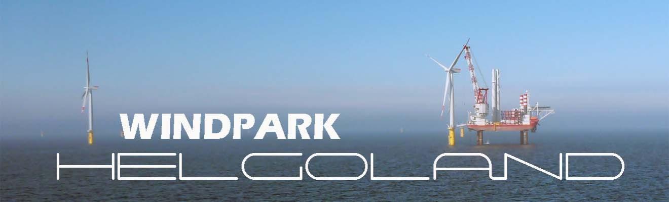 Offshore windpark helgoland